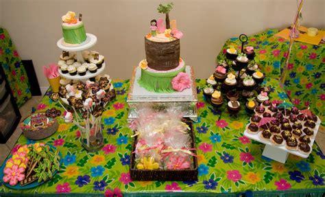family fun  recreation hawaiian birthday party
