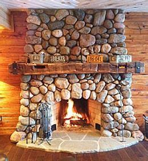 Fireplace Mantels and Rustic Mantel Shelves   Antique