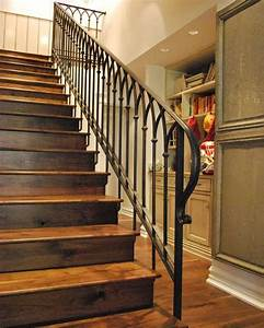 14 Terrific Iron Stair Railing Designs Pic Ideas  With
