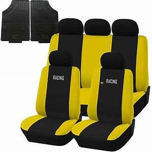 Housse Siege C3 : housses de si ge et tapis caoutchouc pour voiture universel racing noir jaune eur 57 34 ~ Melissatoandfro.com Idées de Décoration