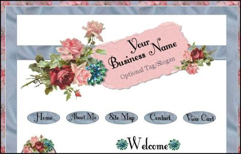 shabby chic websites shabby lane shops web design hosting and marketing