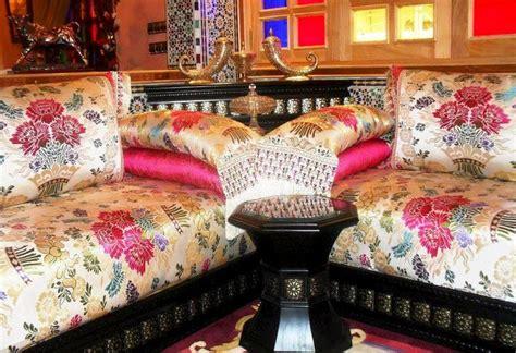 tissus pour canapé pas cher salon marocain traditionnel benchrif recherche