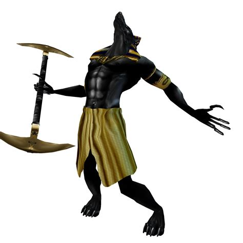 Anubis Clipart Ancient Egypt Pencil And In Color Anubis