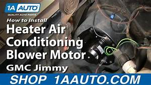 How To Install Heater Air Conditioning Blower Motor Chevy Gmc Pickup Truck 1aauto Com
