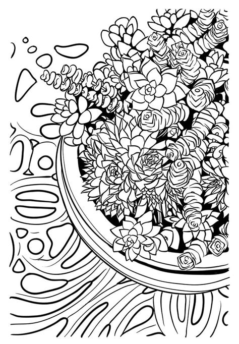 Adult Coloring Pages coloring rocks