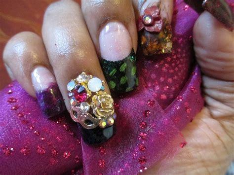 Mardi Gras Nail Designs 2014