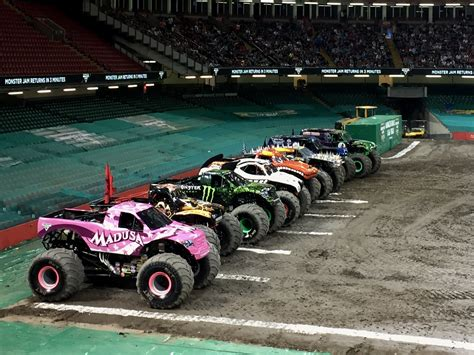 next monster truck show jaw dropping stunts at monster jam principality stadium