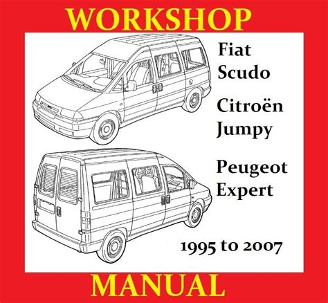 fiat scudo peugeot expert citroen jumpy workshop service repair shop manual wiring pdf