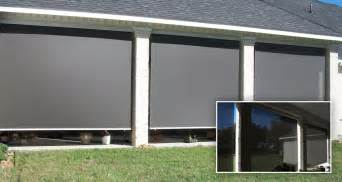 outdoor roll up shade screen pictures to pin on pinterest