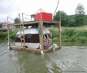 Redneck Houseboat Thar I Fixed It OK? Pinterest