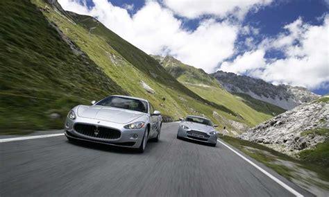 luxury driving adventure  stelvio italy black