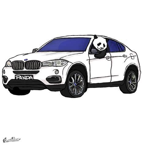 score white x6 panda by shirtsbyryan threadless