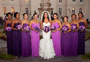 radiant orchid bridesmaid dresses intheknow bridesmaids With purple dress for wedding bridesmaid