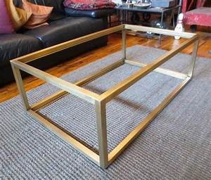 modern metal coffee table best home design 2018 With custom coffee table base