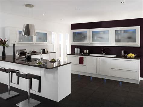 Black And White Kitchen Floor Ideas - cool black and white kitchen ideas with black furniture camer design