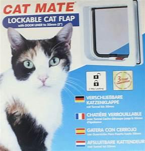 Cat Mate Katzenklappe : cat mate 234w katzent r katzenklappe mit magnetverschlu cate mate heimtiert r wandklappe ~ A.2002-acura-tl-radio.info Haus und Dekorationen