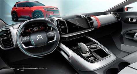 Nouveau Citroën C5 Aircross (2018) : la planche de bord ...