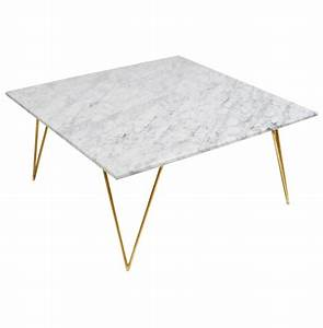 piazza hollywood regency white marble gold coffee table With white coffee table with gold legs