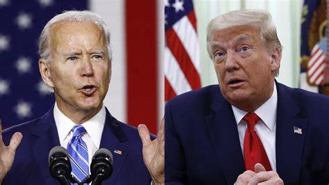 biden trump president coronavirus leads joe presidential poll debate lead democratic election against covid polls double response voters registered among