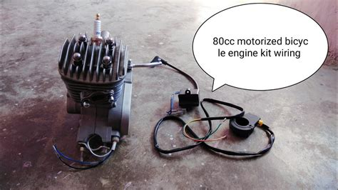 80cc motorized bicycle engine kit wiring installation