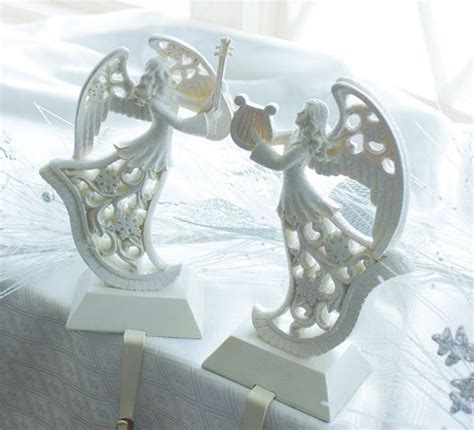 angel stocking holders for mantle 10 best hangers images on decor ornaments