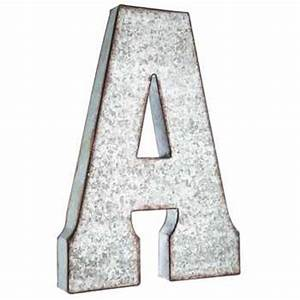 a large galvanized metal letter hobby lobby 871723 With large metal letters hobby lobby