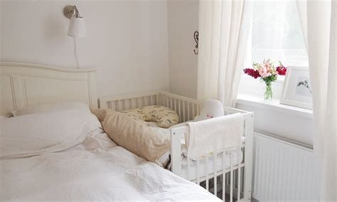crib attached to parents bed baby bed attached to parent s bed baby diy