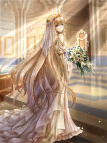anime wedding dress pinning for the way the amazing fabric details especially where it touches the ground color me