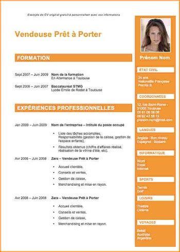 Présentation Cv Gratuit by Cv Gratuit De Formateur
