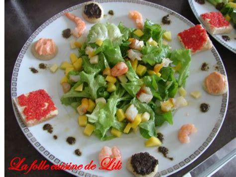 cuisine de lili recettes de salade de mangue de la folle cuisine de lili
