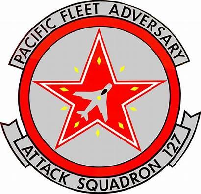 Squadron 127 Navy Vfa Insignia Attack 1984