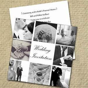 34 best wedding invitations images on pinterest wedding With wedding invitation collage maker