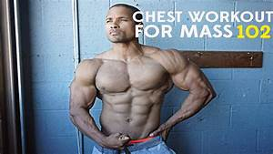 Chest Workout For Mass 102