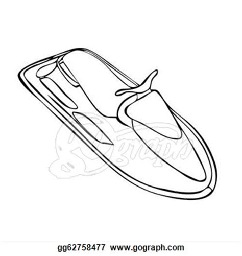 How To Draw A Ski Boat by Jet Ski Drawing Gallery