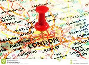 London England United Kingdom Map