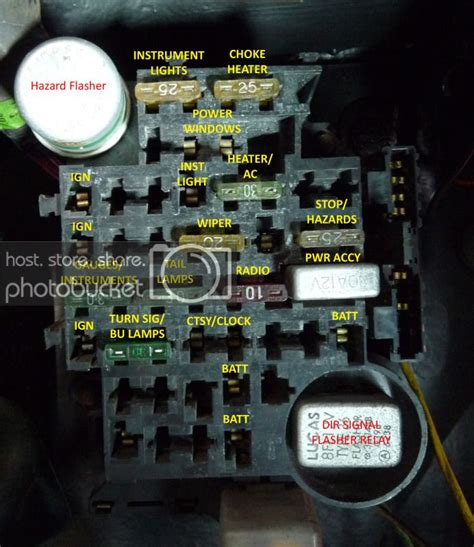 Solved Need Camaro Fuse Box Diagram Picture