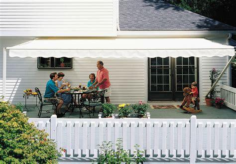 14-ft Sunsetter 1000xt Retractable Awning, Outdoor Deck