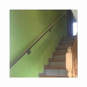 Main Courante Escalier Intérieur : main courante inox en kit ~ Edinachiropracticcenter.com Idées de Décoration