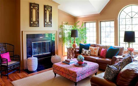 10 Bohemian Style Living Room Ideas