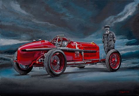 Alfa Romeo P3 by Alfa Romeo P3 With The Designer Vittorio Jano 1891 1965