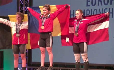 Svarcēlāja Ivanova izcīna U17 Eiropas čempionāta sudrabu - Spēka sports - Sportacentrs.com