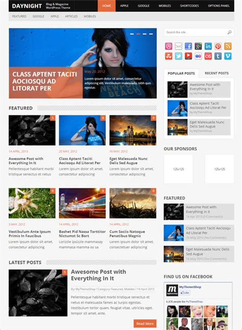 Premium Themes 10 Best Magazine Themes You Should Not Miss