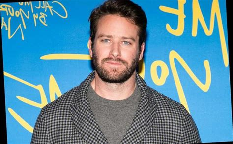 Armie Hammer says his handlebar mustache is 'part hairy ...