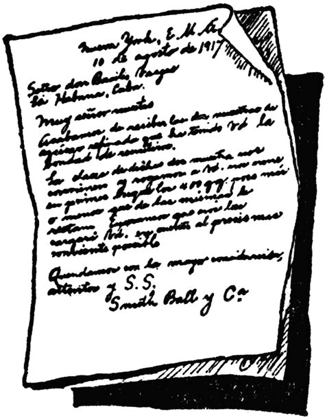 Handwritten Letter | ClipArt ETC