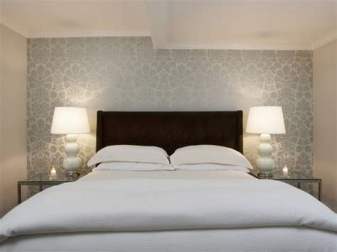 contemporary bedding ideas modern grey wallpaper bedroom