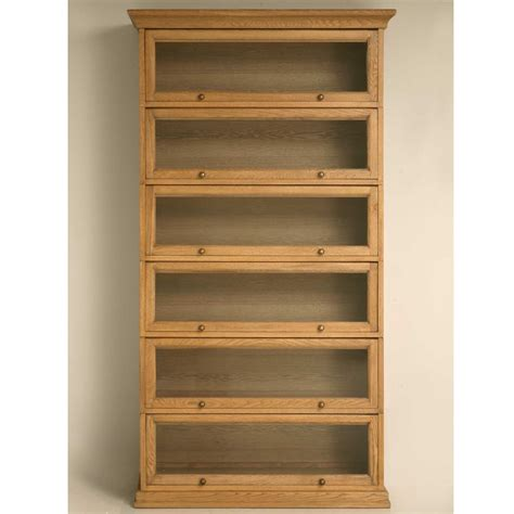 wood bookcase with doors furniture oak barrister bookcase comes with glass doors 6