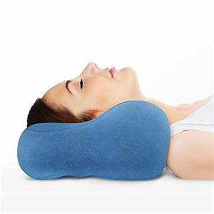 sunshine pillows ergonomic travel neck pillow comfortable With best pillow for head and neck support
