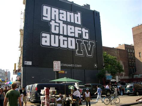 Marketing For Grand Theft Auto Iv
