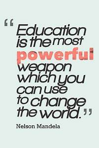Education Is The Most Powerful Weapon Poster : online get cheap educational motivation alibaba group ~ Markanthonyermac.com Haus und Dekorationen