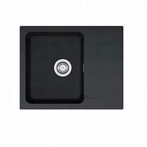 Evier Noir 1 Bac : vier r sine noir franke 1 bac r versible orion des ~ Dailycaller-alerts.com Idées de Décoration